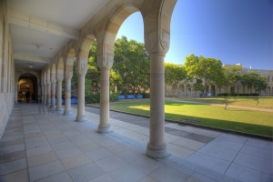 st lucia campus - with pillars
